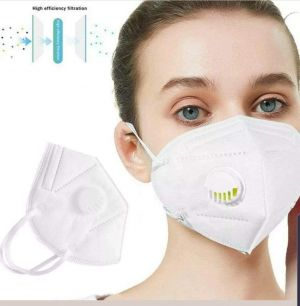 KN95 Masks with Filter - Protection Mouth mask - Sealed Bag -Protective Face Mask Dust Filter Mouth Cover