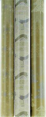 3 x 5m Christmas Gift Wrapping Paper