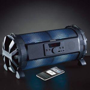 Daewoo App Controlled Bluetooth/USB Bazooka LED Speaker With Radio 3W Speaker