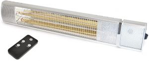 STAYWARM 2000w Wall Mounted Patio Heater with Remote Control - F2702