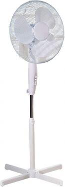 Oscillating 16 Inch Free Standing Pedestal Fan White
