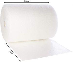 JPN 500mm x 100m Quality Bubble Wrap Roll (Small Bubbles) Air Bubbles