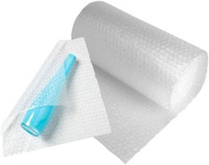 Roll of Quality Bubble Wrap - Small Bubbles (300mm x 75m)