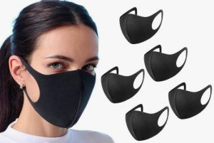 10x Anti Dust Mask Face Mouth Mask, Fashion Reusable Washable Outdoor Unisex Mask, Anti-Pollution Facemask