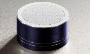 Daewoo Aluminium Cylinder Bluetooth Speaker [BLUE]