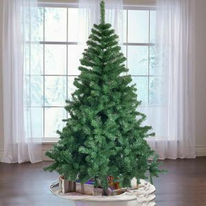 6FT Christmas Tree Colorado Spruce Artificial Bushy Festive Decor Metal Base
