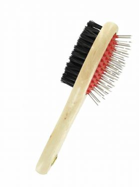 Double Sided Pet Grooming Brush Comb Dog Cat Hair Shedding Tidy